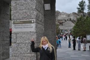 Bei 10° am Mt. Rushmore