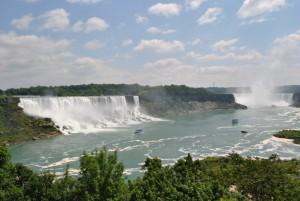 Die Niagarafälle, die ich wohl selbst nie sehen werde...