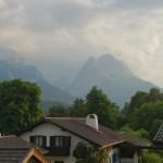 Balkonblick Zugspitze