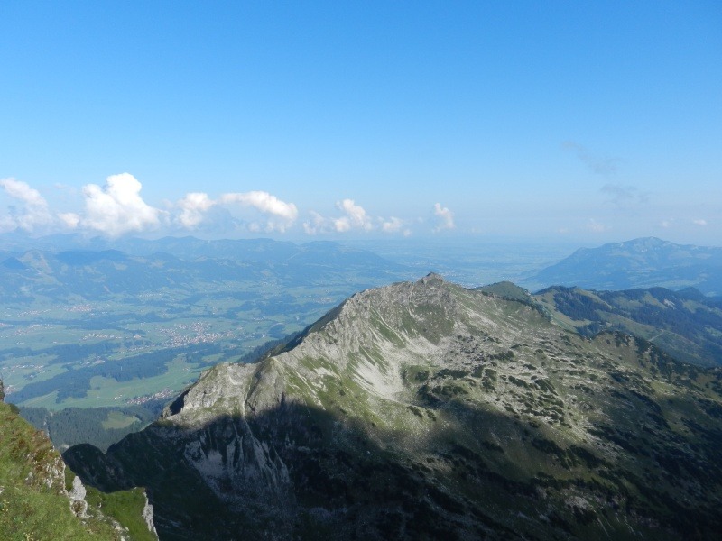 Hindelanger Klettersteig Wengenkopf : Hindelanger klettersteig nebelhorn 2224 m wengenkopf 2235 grosser