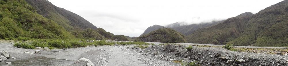 Auf dem Weg zum Franz Josef Glacier