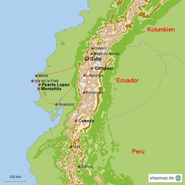 Ecuador Oktober 2010