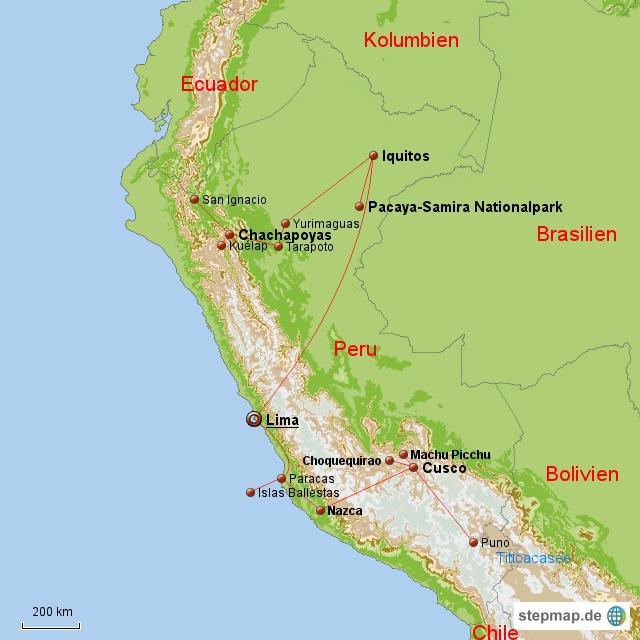 Peru Oktober - Dezember 2010
