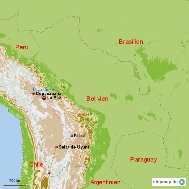 Bolivien Dezember 2010