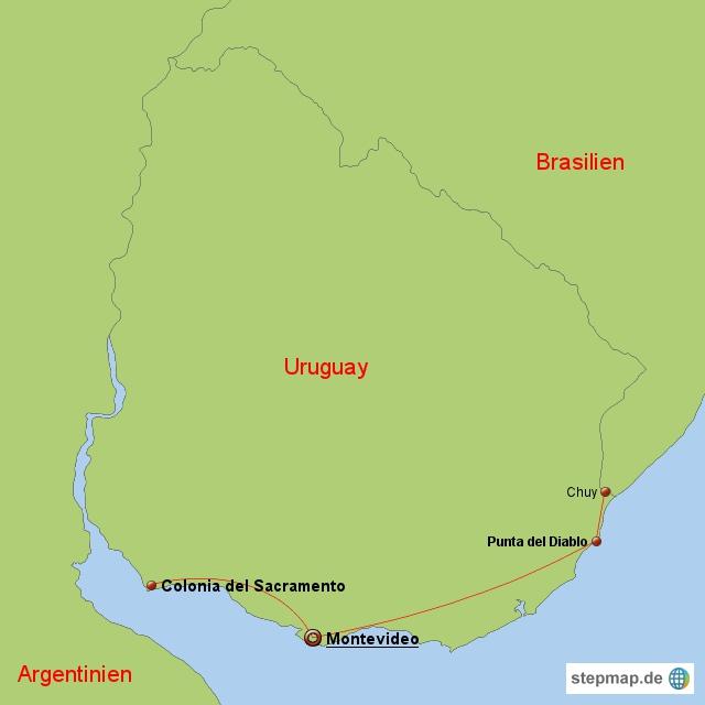 Uruguay, Februar 2011