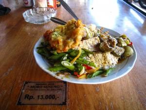 das beste Nasi Campur gibts im Warung Moro Seneng in Sanur!!!