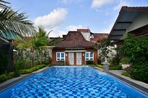 unser Hotel Agung Inn Garden in Yogya