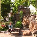 im Tempelkomplex rund um den Grand Palace, Bangkok