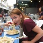 Nudeln in Thailand essen