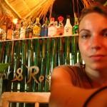 sitze in der Bar auf Ko Samed