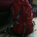 Der Rucksack ist gepackt :)