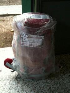 frisch verpackt: Mein Gepaeck