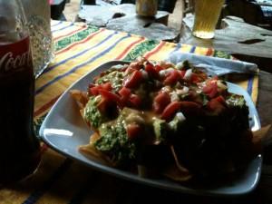 Nachos mit Guacamole im Jakuu