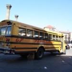 Beispiel für einen (uncolorierten) Chicken Bus