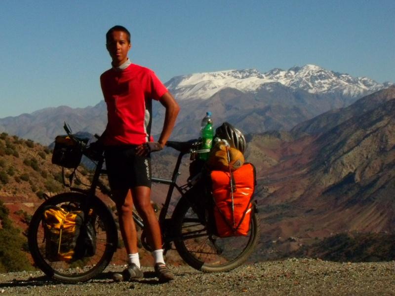 Foto mit dem hoechsten Berg Nordafrikas- so muss sich Reinhold Messner einst gefuehlt haben;)
