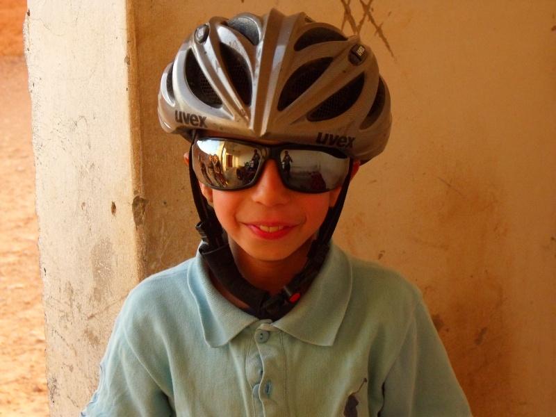 So eine Brille und ein Helm sind schon was Tolles...