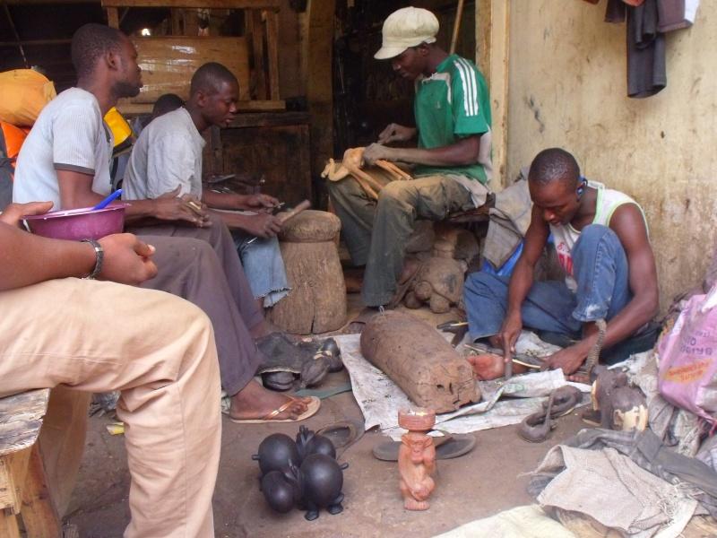 Kunst zum Anfassen- das Künstlerviertel in Bamako