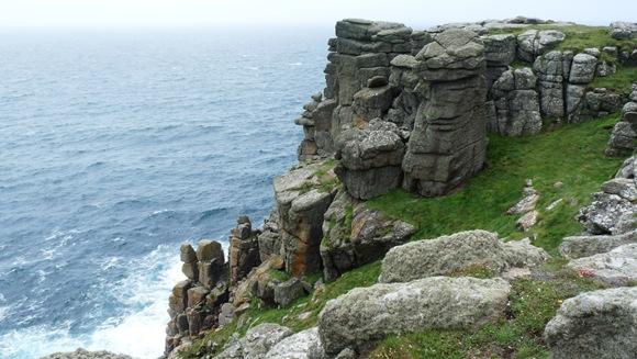 england küste stein formationen