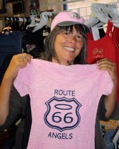 Seligmann Route 66-Shop - und, nein, das habe ich mir nicht gekauft!