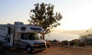 Camping in Malibu