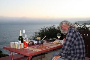 Dinner in Malibu