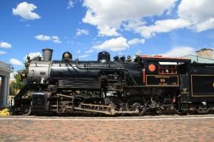 Grand Canyon Bahn - eine alte Lok