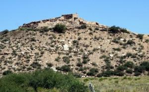 Tuzigoot NM - bei der Ausgrabung in den 1930er Jahren zum Teil wiederaufgebaut