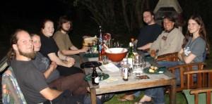 Barbecue auf der Guttelsburg