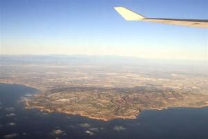 Long Beach - Area von oben