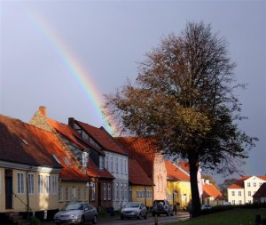 We're still running for rainbows - hier in Kalundborg, DK