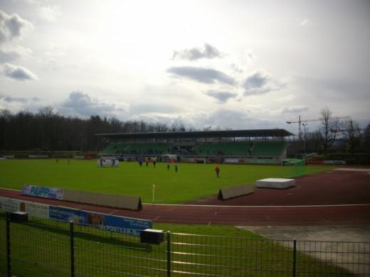 Das Fuchs-Park-Stadion in Bamberg.