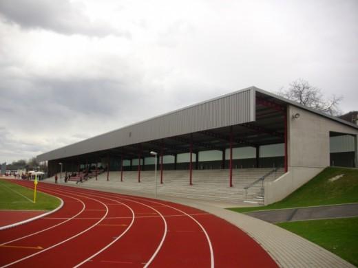Das Dr.-Stocke-Stadion in Coburg.