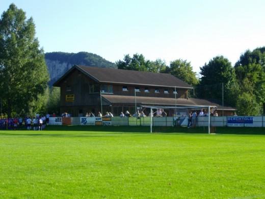 FC Mäder - SC Austria Lustenau Am., Vorarlbergliga, 6.9.2009, Sportplatz FC Mäder, Mäder