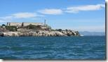 San Francisco - Alcatraz vom Wasser aus