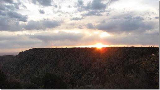 Grand Canyon - Sonnenaufgang um 6:15 Uhr