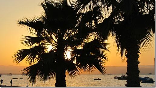 Paracas - Sonnenuntergang
