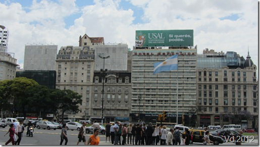 Buenos Aires - Plaza de Republica