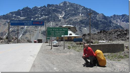 Busfahrt von Mendoza nach Santiago de Chile