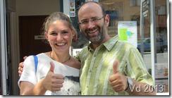 Hostel The Flaming Kiwi - Treffen mit Christin Wiesen