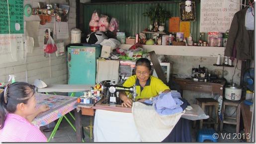 Chiang Mai - bei der Schneiderin
