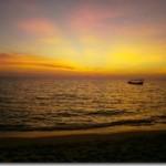 Himmel am Otres Beach