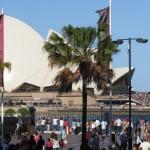 Oper und Circular Quay wegen Überfüllung geschlossen