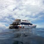 Unser Zuhause für 2 Tage: Die Ocean Quest
