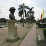 Heldenverehrung im Rizal Park