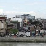 Slums noerdlich des Pasig River