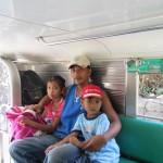 Im Jeepney von Sabang nach Puerto Galera