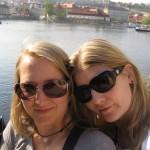 Sonne, Prag und Karlsbrücke