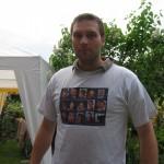 Das T-Shirt muss mit