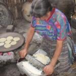 Tortillas backen