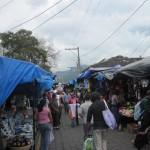 Markttag in Antigua